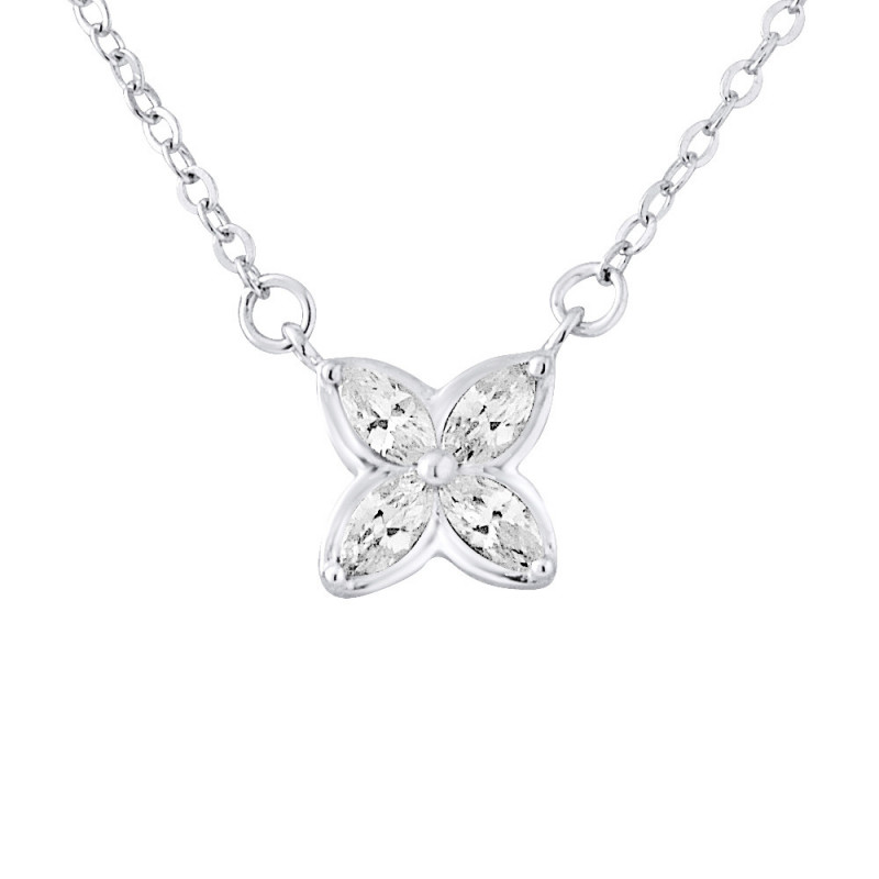 Collier argent MARGOT