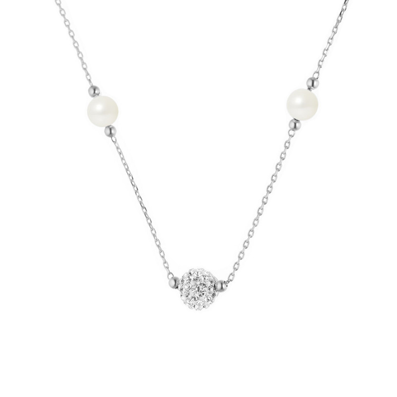 Collier argent BETH